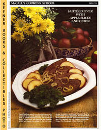 image of McCall's Cooking School Recipe Card: Meat 31 - Sauteed Liver Alsacienne :  Replacement McCall's Recipage or Recipe Card For 3-Ring Binders : McCall's  Cooking School Cookbook Series