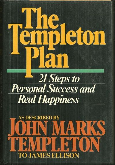Image for TEMPLETON PLAN 21 Steps to Personal Success and Real Happiness
