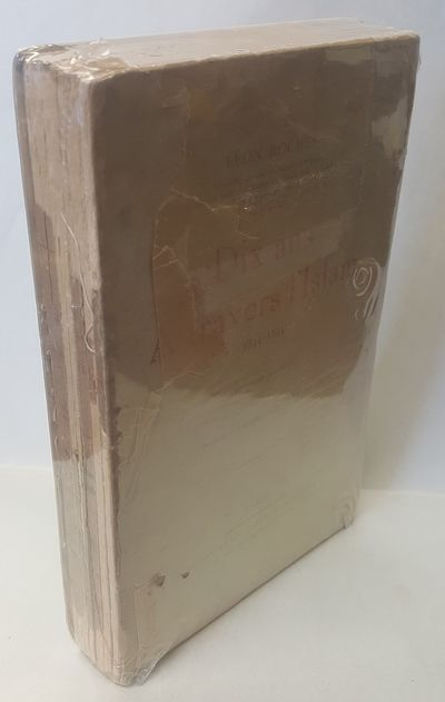 Paris: Perrin et Cie, 1904. Third. 8VO, 560pp in pale green wraps with black and red titles, remains...