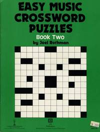 EASY MUSIC CROSSWORD PUZZLES, BOOK TWO