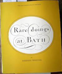 Rare Doings at Bath
