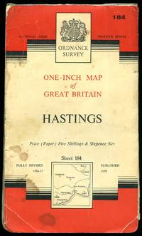 image of Ordnance Survey One Inch Map: Sheet 184 Hastings [Seventh Series] [2]