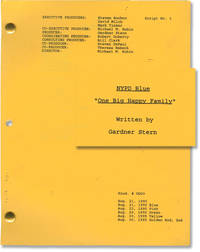 image of NYPD Blue: One Big Happy Family (Original screenplay for the 1995 television episode)