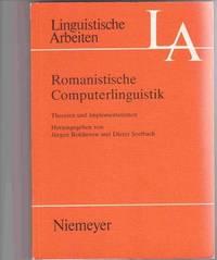 Romanistische Computerlinguistik:  Theorien und Implementationen