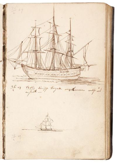 Zur Südamerikanischen Reise. 1849-1850.