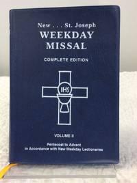 NEW ST. JOSEPH WEEKDAY MISSAL, Vol. II: Pentecost to Advent