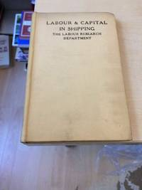 image of Shipping: Studies in Labour and Capital No. VI