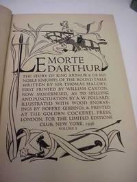 when was le morte d arthur written