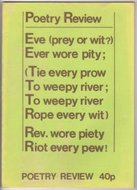 Poetry Review, Volume 66, Number 2 (1976)