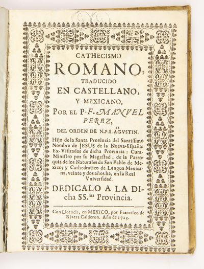 Cathecismo Romano, traducido en...