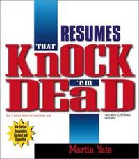 Resumes That Knock 'em Dead  4th Edition