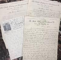 Alaska Fishing and Development Company Letters