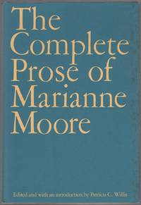 The Complete Prose of Marianne Moore