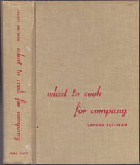 image of What to Cook for Company (Revised and Expanded Second Edition)