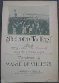 """image of Studenten -Taalfeest"""" Lied: """"Wij zullen handhaven""""! Jong Zuid-Afrika gewijd"""