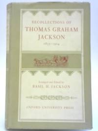 Recollections of Thomas Graham Jackson