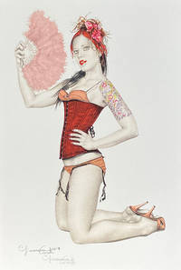 image of The Feathered Fan - Limited Edition Print (Signed)