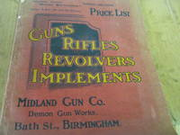 Guns Rifles Revolvers Implements Midland Gun Co. Price List