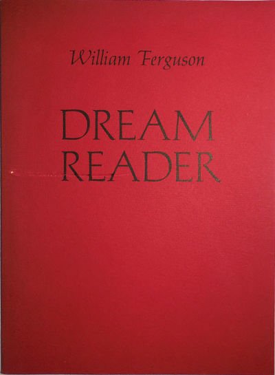 Cambridge: Halty Ferguson, 1973. First edition. Paperback. Very Good. Tall, wide trade paperbound vo...