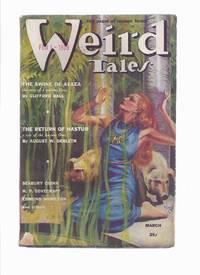 Weird Tales ( Pulp / Magazine ) March 1939 Volume 33 # 3 (inc, Quest of Iranon; Return of Hastur; Metal Chamber; Desert Dawn; Stratosphere Menace; Smoke Fantasy; Devils of Po Sung, etc)