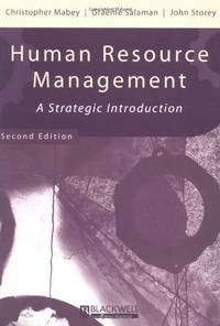 Human Resource Management 2e: A Strategic Introduction (Management, Organizations and Business)