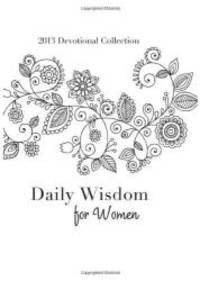 image of Daily Wisdom for Women: 2013 Devotional Collection