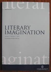 image of Literary Imagination : Volume 9 Number 1 2007