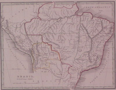 Boston: Ticknor, W.D., 1835. unbound. very good. Map. Engraving with original color outline. Image m...