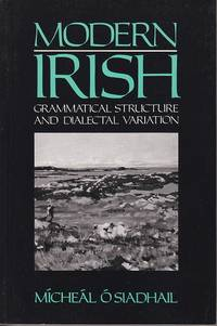 Modern Irish.  Grammatical Structure and Dialectal Variation  [SIGNED]