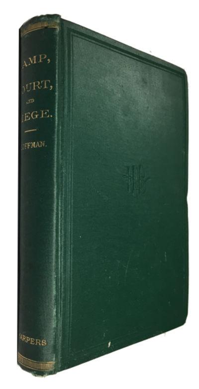 New York: Harper & Brothers, 1877. 1st ed. Hardcover. Very Good. 285p. Original green cloth. 19cm. B...