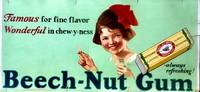 [ADVERTISING] Beech-Nut Gum Famous for fine flavor - Wonderful in chew-y-ness