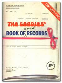 image of The Goodies' Book Of Criminal Records