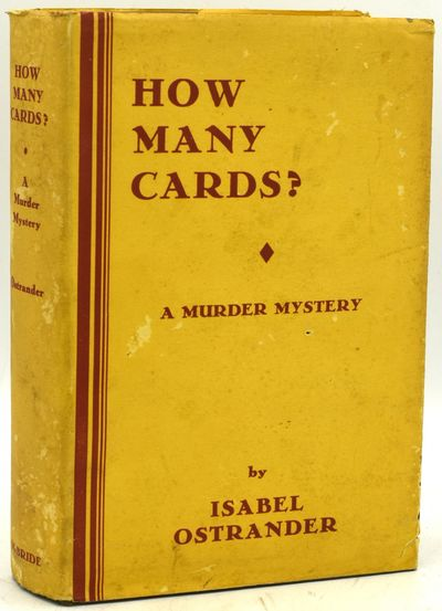 New York: Robert M. McBride & Co, 1920. First Edition. Hard Cover. Very Good binding/Very Good dust ...