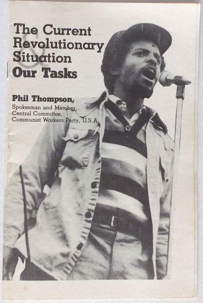 New York: Cesar Cauce Publishers, 1981. 16p., staplebound pamphlet, some handling soil, occasional h...