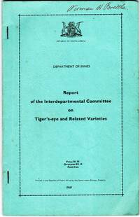 image of Report of the Interdepartmental Committee on Tiger's-Eye and Related Varieties