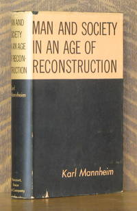 image of MAN AND SOCIETY IN AN AGE OF RECONSTRUCTION