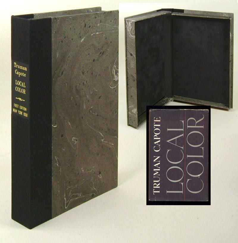 Local Color Custom Clamshell Case Only By Truman Capote