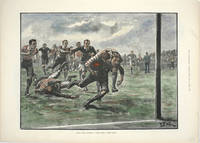"""image of Rugby Union Football: """"Well Saved! Hard Lines"""""""