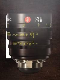 image of LEICA CINE CINEMA LENSES SUMMICRON  / M PL MOUNT ADAPTER