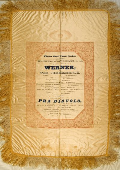 S. Johnson, 1837. Victoria on Charles Macready: