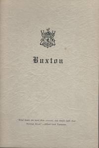 History of Your Name No. 558 Buxton History Family Genealogy by Buxton Family Association