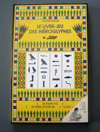 image of Le livre-jeu des hiéroglyphes. Un code pour vos messages