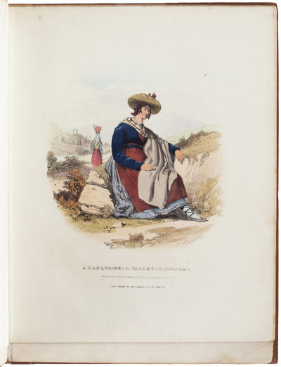 The costumes of the French Pyrenees,