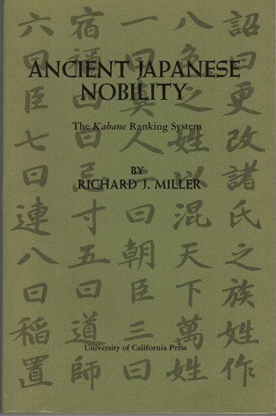 Berkeley: Univ. of California Press, 1974. First edition. Publications: OccasionalPapers. Nos. 7. Ex...