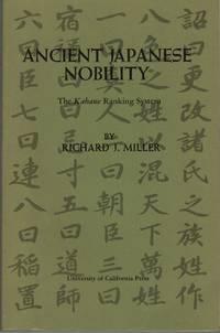 Ancient Japanese Nobility The Kebane Ranking System