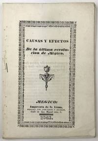 Causas y Efectos de la Ultima Revolucion de Megico
