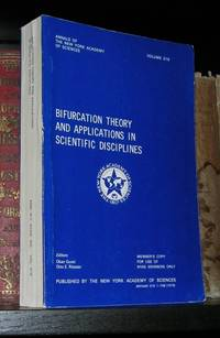 BIFURCATION THEORY AND APPLICATIONS IN SCIENTIFIC DISCIPLINES