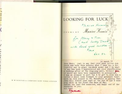 New York: W.W. Norton & Co., Inc., 1992. SIGNED AND INSCRIBED BY AUTHOR on title page -