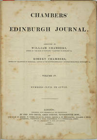"""image of Chambers' Edinburgh Journal, Volume IV, with article, """"Mutiny of the Bounty"""""""