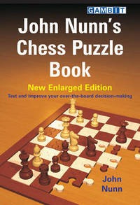 image of John Nunn's Chess Puzzle Book: New Enlarged Edition